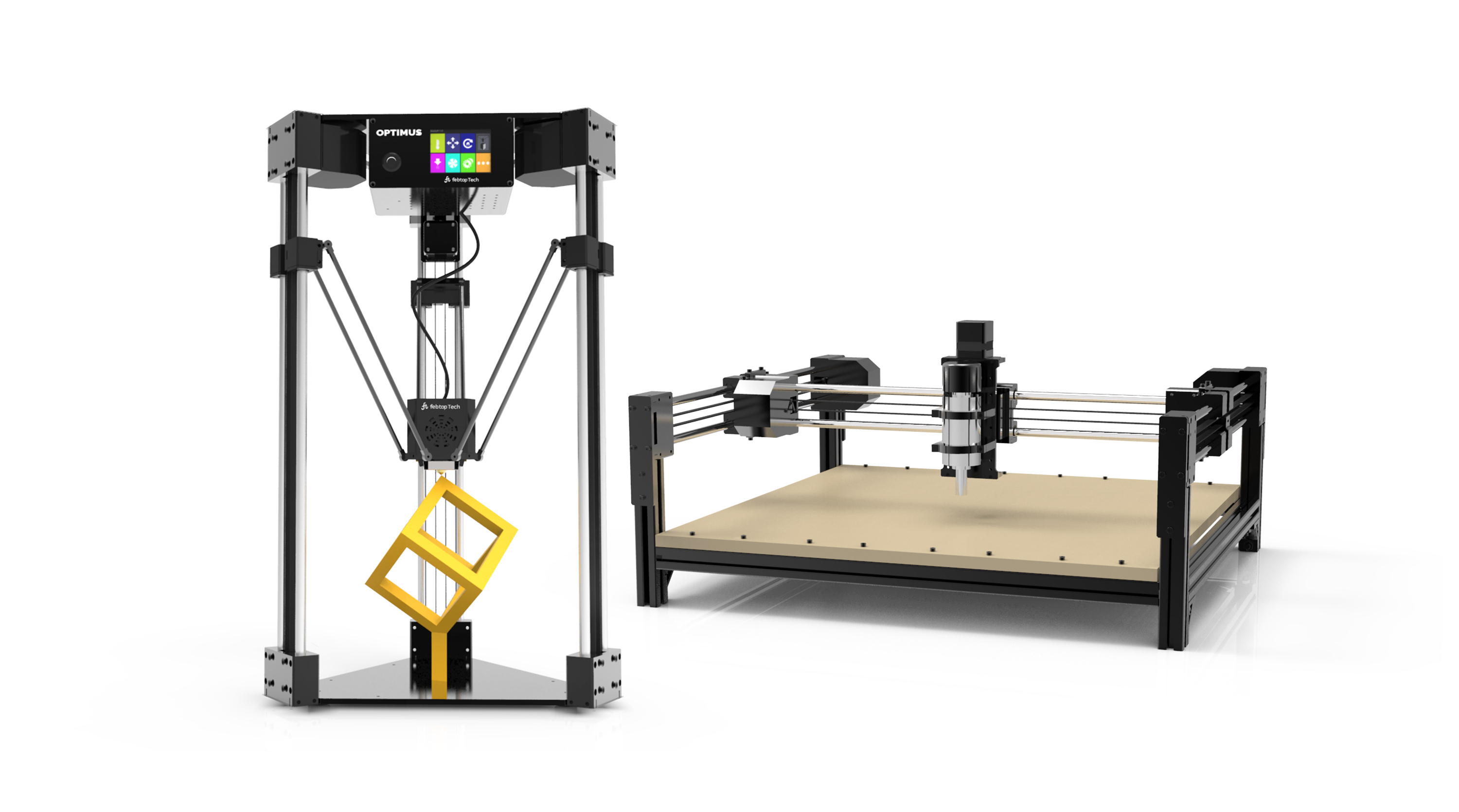The Optimus 3d Printer Puts A 3 In 1 Machine Shop On Your