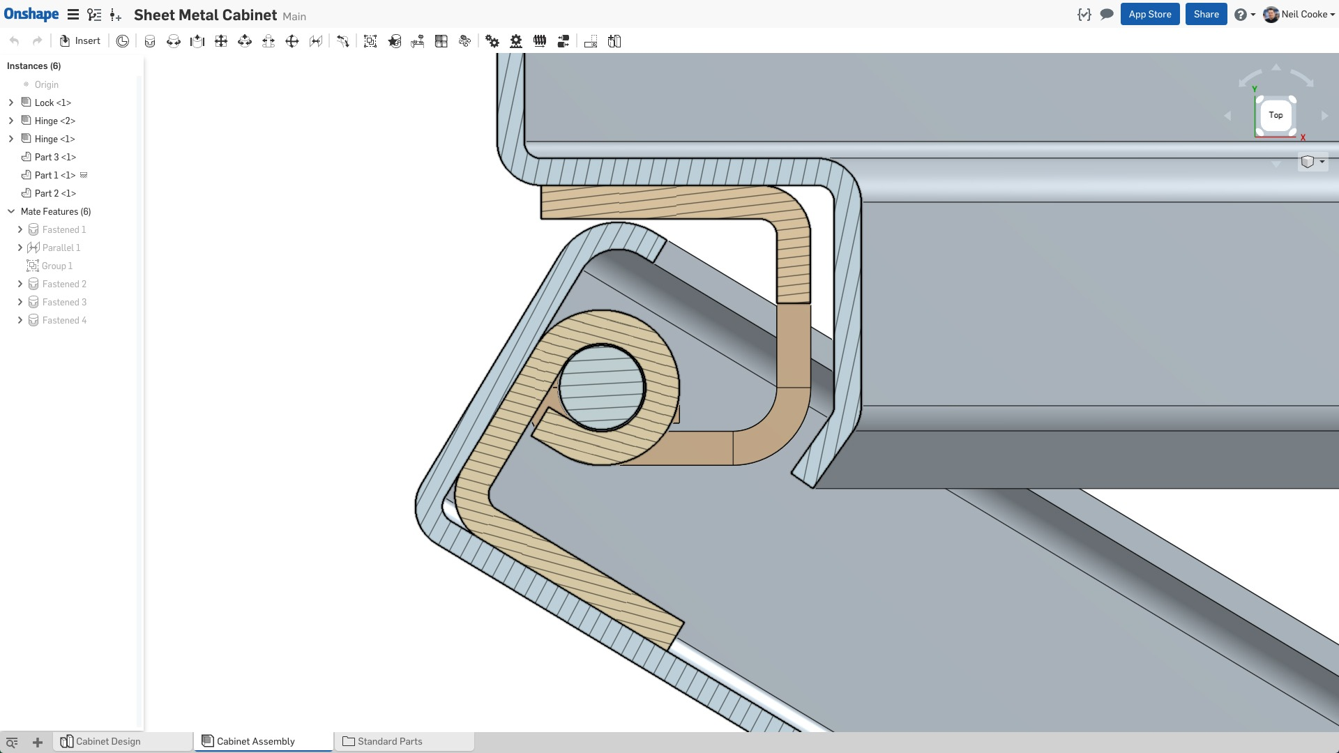 how to cut intricate designs in sheet metal