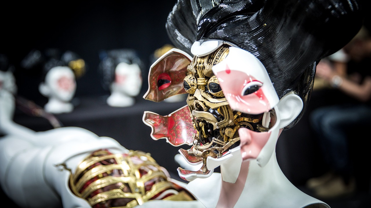 Behind the Design: Weta Workshop's Ghost in the Shell Geisha Mask ...