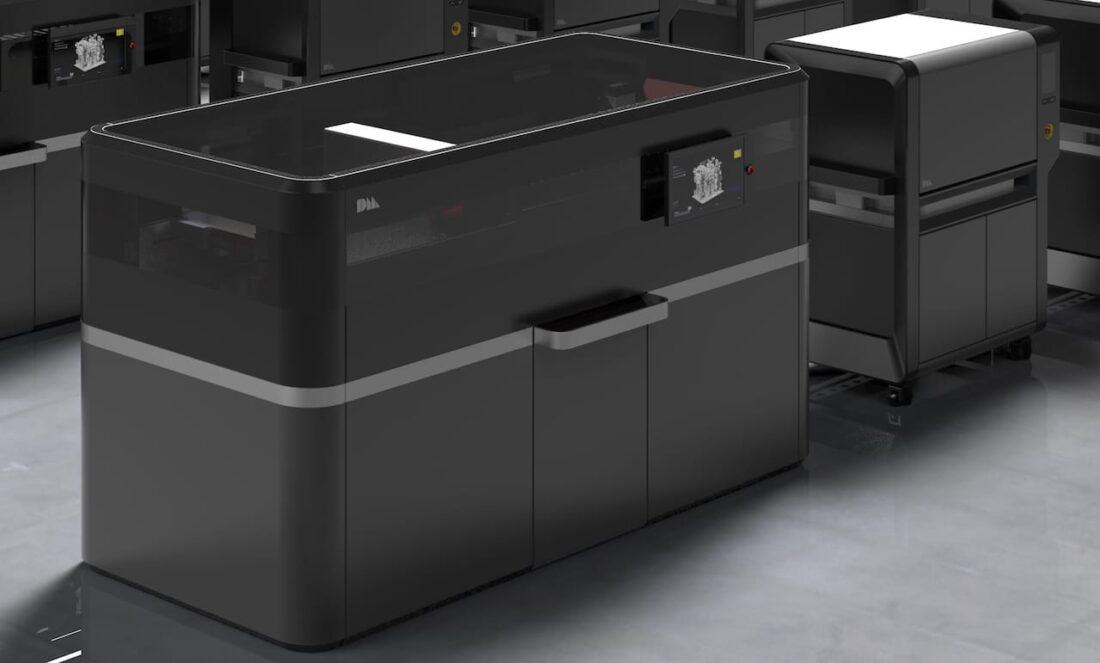 The Desktop Metal Production 3D metal printer