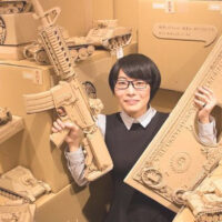This Cardboard Artist Can Create Just About Anything Out of Amazon Boxes
