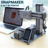 Snapmaker is the Swiss Army Knife of 3D Printers with All-Metal Modular Design