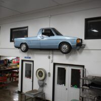 Cutting a VW Rabbit Truck in Half to Hang on Your Wall
