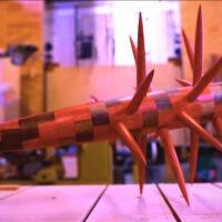 Watch Master Woodworker Frank Howarth Craft a Zombie Killer Bat