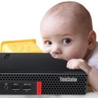 Lenovo Unveils ThinkStation P320 Tiny Workstation. It's… Tiny.