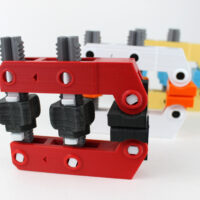 3d printed hand-screw clamp