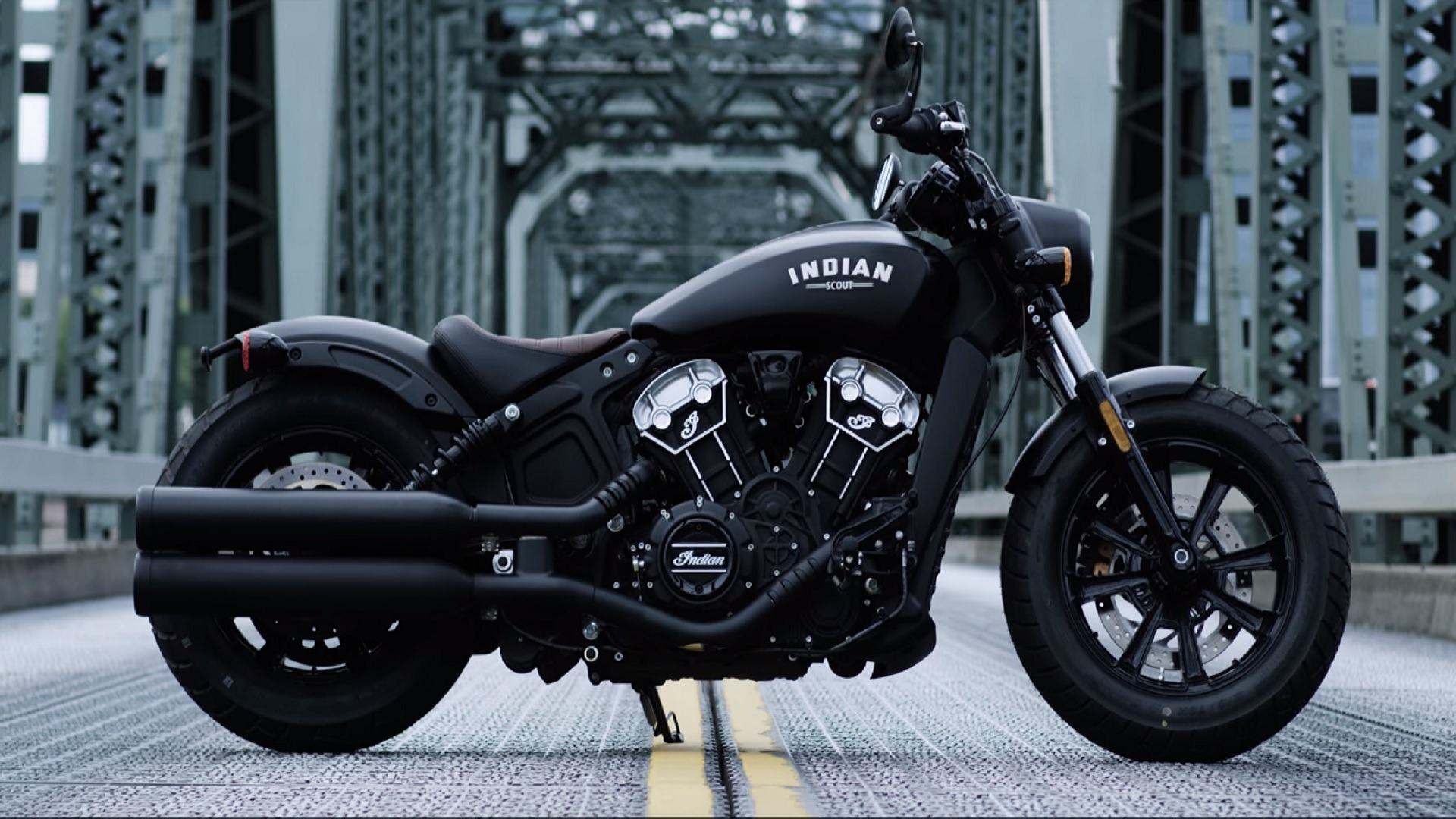 indian scout bobber motorcycle is slammed style in a sleek. Black Bedroom Furniture Sets. Home Design Ideas
