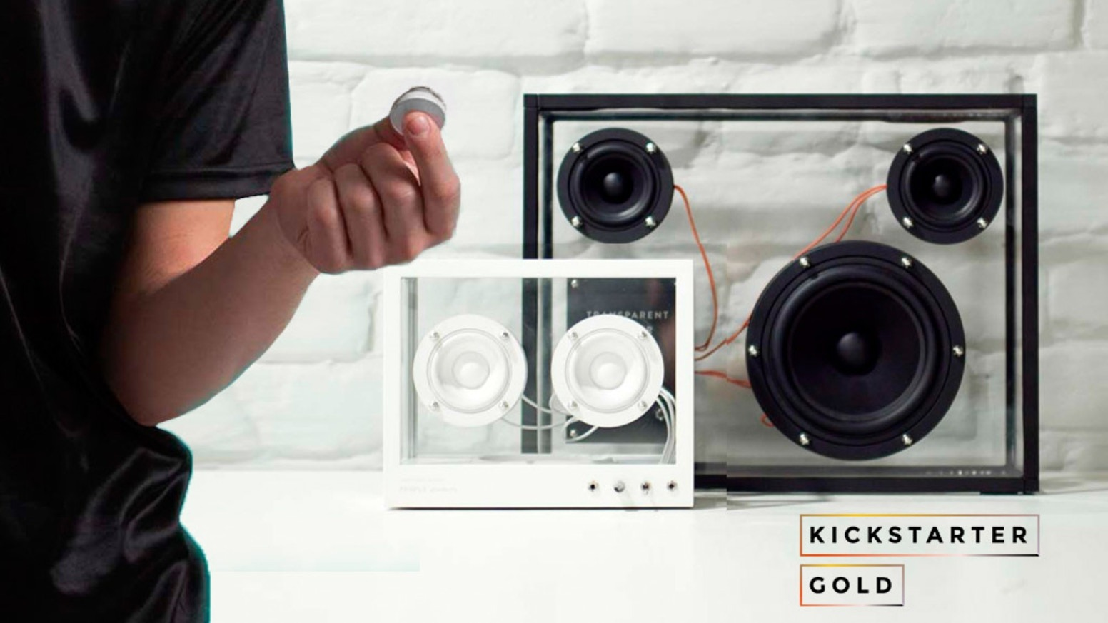 Wireless Transparent Speaker Design