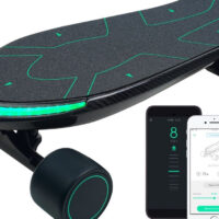 A Smart Electric Skateboard with Built-in A.I. and ABS Braking
