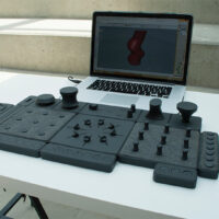 TAC.TILES is a DJ-like Physical Interface for 3D Modeling