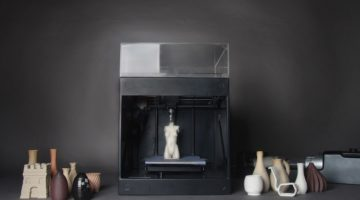 The ClayXYZ 3D Printer Prints Clay, Works With Other FDM Printers
