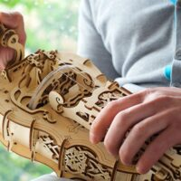 Assemble and Play This Lasercut Wood Hurdy-Gurdy Like a Fancy, Medieval Prince
