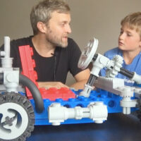This Go-Kart is Made From Giant 3D Printed LEGOS