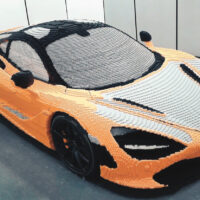 McClaren Designers and LEGO Speed Builders Build a Full-Scale Supercar