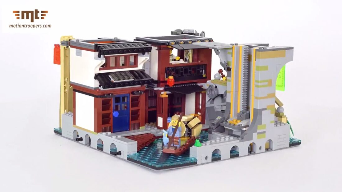 LEGO Ninjago City: 4,867 Pieces, 2 Feet Tall, Most Detailed Design ...