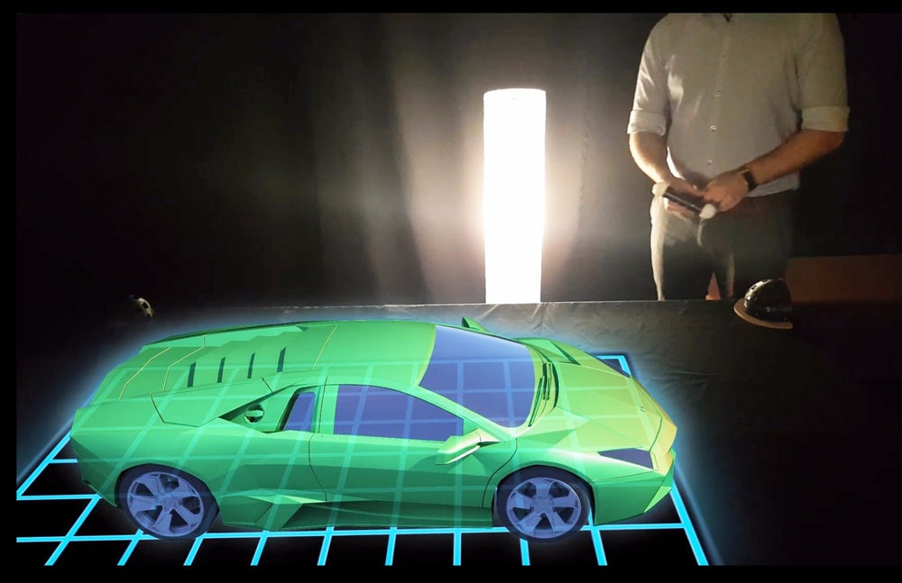 hologram table