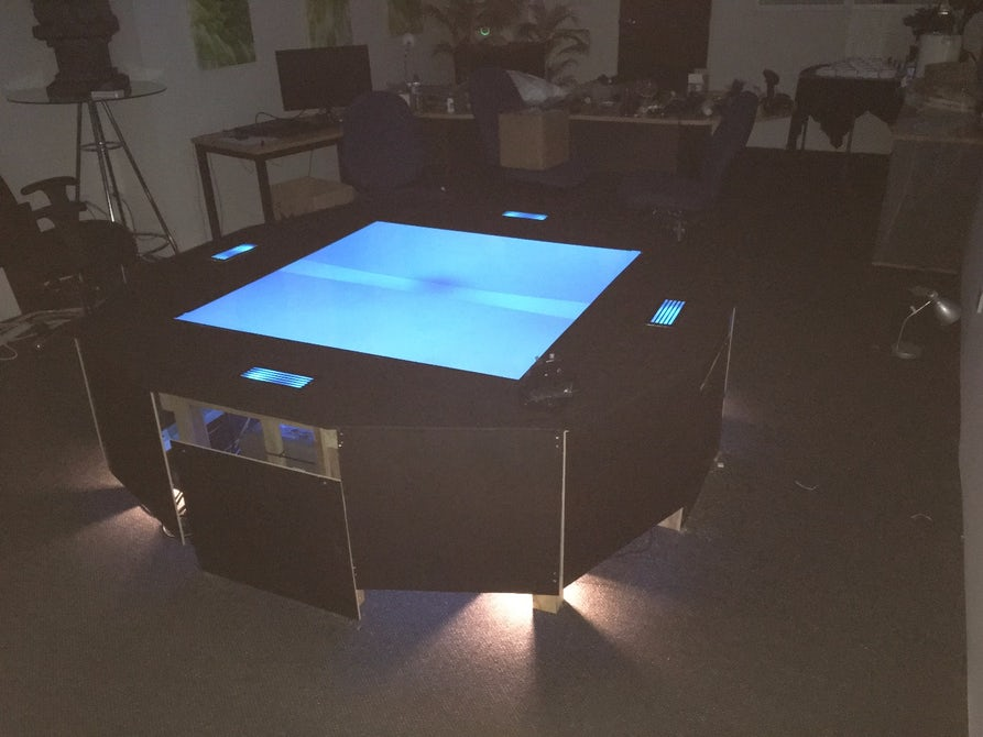 hologram table