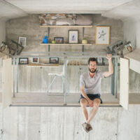 This Industrial Designer Built His Workshop Directly Underneath a Highway Underpass