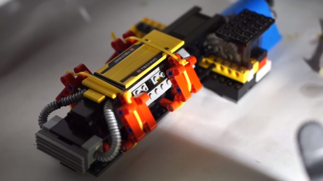 LEGO Motor Gets Overclocked