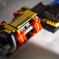 Watch as a LEGO Motor Gets Overclocked Way Past Child Safety Limits