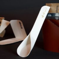 The Eco Scoop Is a New Flat-Packed, Biodegradable Spoon Design