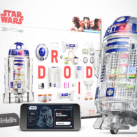 The LittleBits Droid Inventor Set Lets Kids Build Their Own Programmable R2-D2s