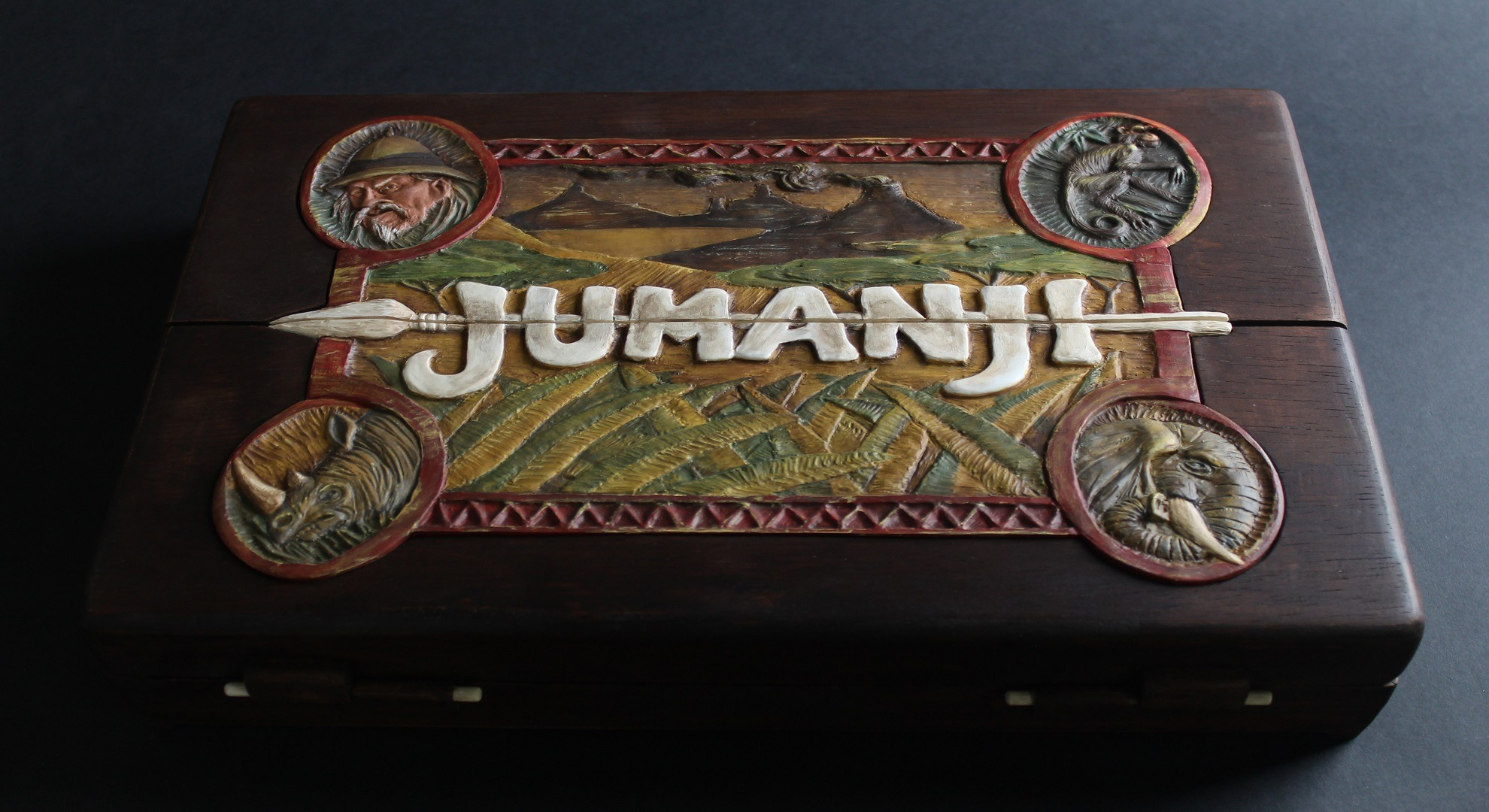 This Handmade Jumanji Board Build Process Will Suck You In