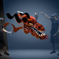 MasterpieceVR Allows Four Users to Collaborate & 3D Model Simultaneously