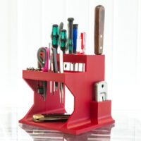 Model of the Week: One-Piece Desktop Tool Organizer [Time to OCD!]
