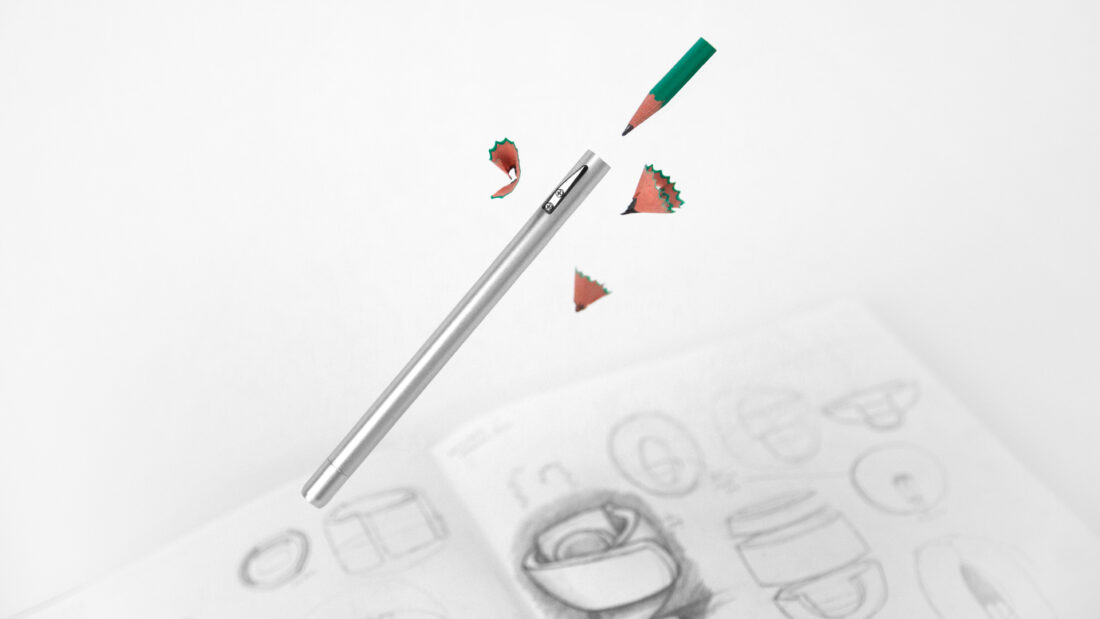 pencil+ sharpener extender all-in-one