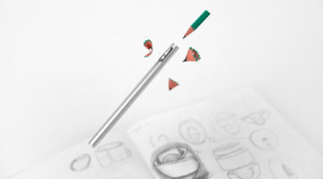 Pencil+ Is an All-in-One Sharpen and Pencil Holder/Extender