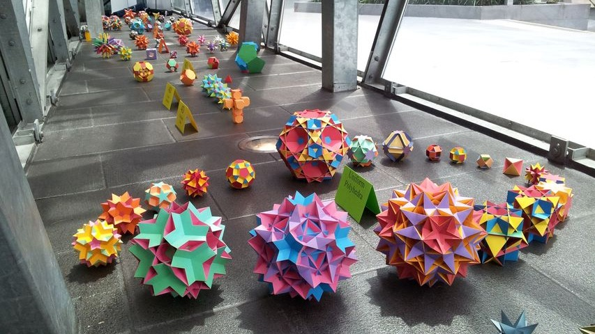 Examples of a few 3D polyhedron that can be generated by Stella