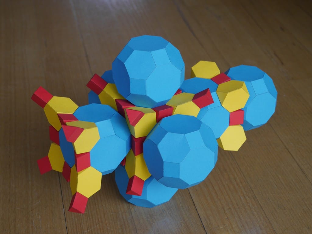A 3D polyhedron you may not have heard of before: the Cantitruncated Tesseract