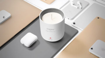 The 'Inspire' Candle Brings That New Apple MacBook Scent 24/7