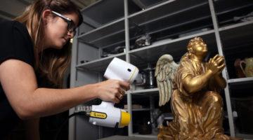 The PEEL Handheld 3D Scanner Just Made Scanning More Affordable