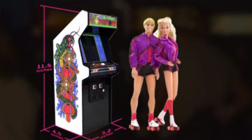 These 12-Inch Tall Arcade Machines Bring A Blast From The Video Gaming Past