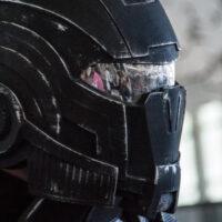 Model of the Week: 3D Printed Mass Effect N7 Helmet [Helmet Hair!]