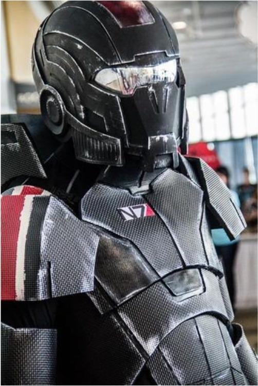 3d printed mass effect n7 breather helmet