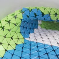 Model of the Week: 3D Printed Triangular Mesh Fabric [100X Better Than Polyester!]