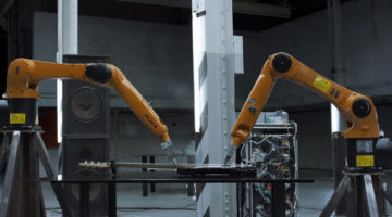 Watch KUKA Industrial Robotic Arms Make Sweet Music in This Stunning Video