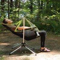 Rocking Chairs Get Lightweight and Portable with the Stargaze Camping Recliner