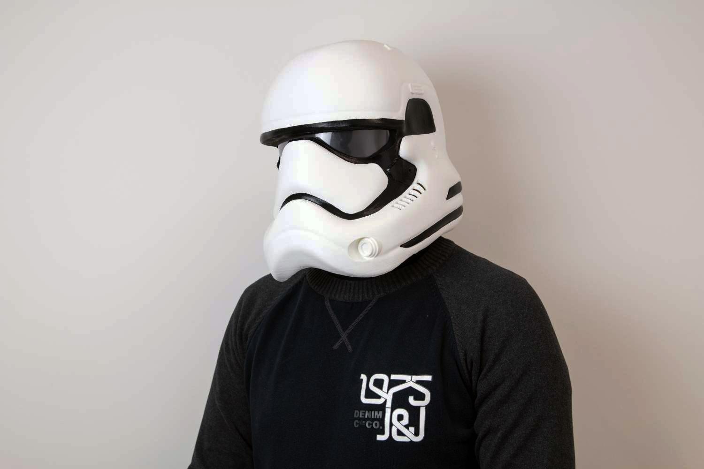 Stormtrooper helmet 3d print