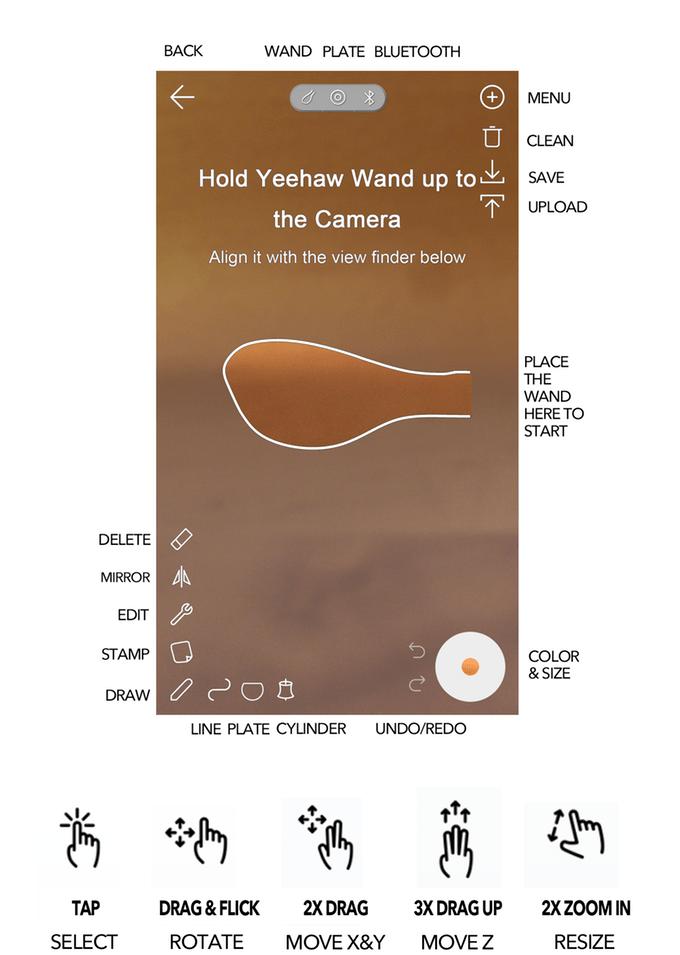 Yeehaw 3D Modeling Wand