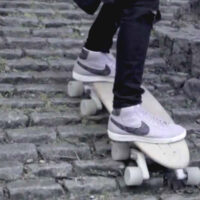 The Stair Rover Longboard is Designed to Shred Down Stairs