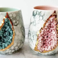 Behind the Design: Katie Marks Makes Some Rocking Crystal and Astral Ceramic Mugs
