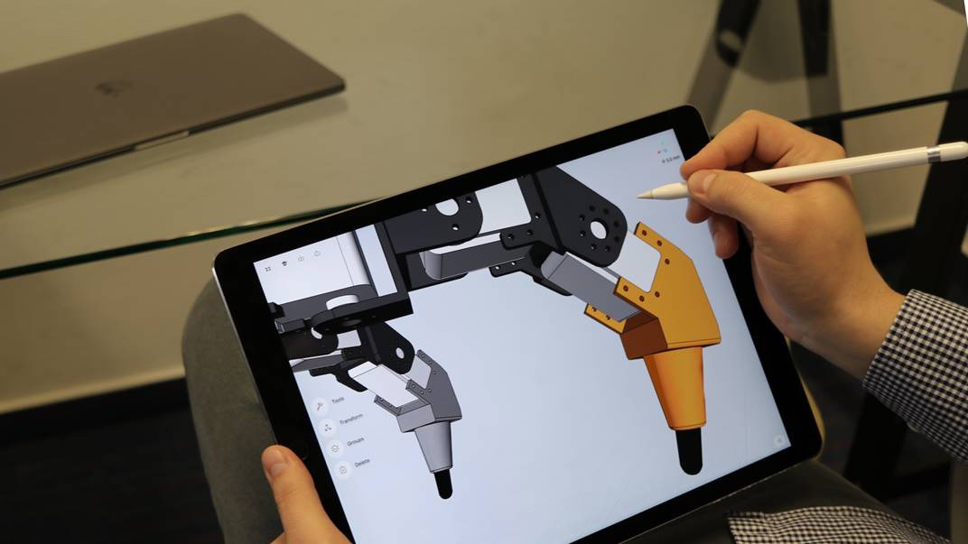 Shapr3d 3 0 brings parasolid 3d modeling to ipad pro 3d modeling app