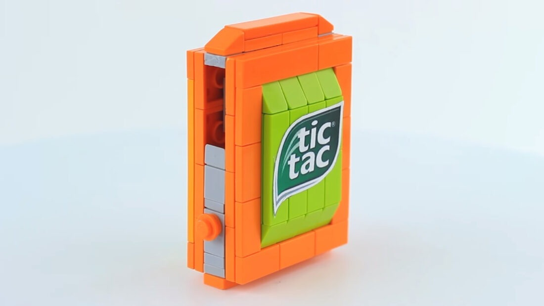 You'll Want To Build This LEGO Tic Tac Dispenser For Your Next Customer Meeting