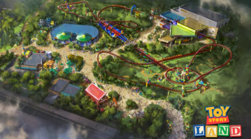 Toy Story Land Shrinks You Down To Experience The Park As An Action Figure