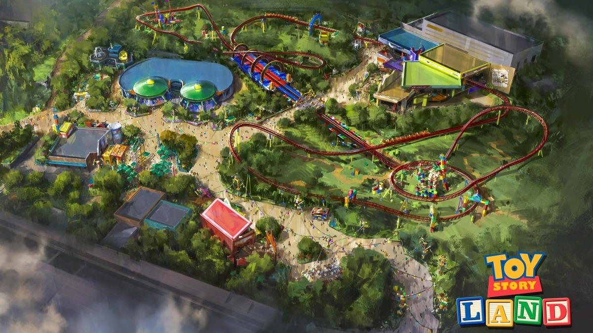 Toy Story Land 2018