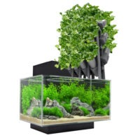Model of the Week: Modular Aquaponics Wall [Stack Yo' Veggies!]